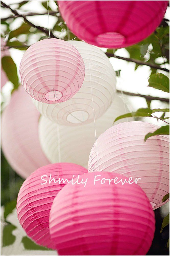 A pretty but inexpensive way to bring out your colors in your wedding decorating.