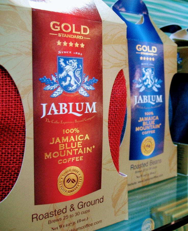 Jablum's Gold Standard coffee available at the Historic Falmouth Cruise Port shopping district. - Jamaica