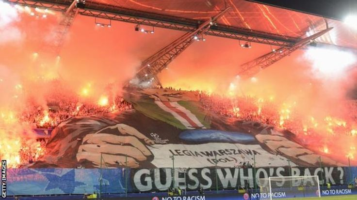 Legia Warsaw will host their Champions League game against holders Real Madrid in an empty stadium after fans were banned over crowd trouble. Fighting among home fans during Legia's 6-0 loss to Borussia Dortmund has also resulted in a £69,000 fine from Uefa, European football's governing body. via @BBCSport #footballplanetcom #realmadrid #legiawarsaw #ucl
