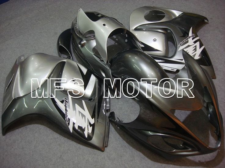 612.87$  Watch now - http://ali8yb.worldwells.pw/go.php?t=1985672622 - For Suzuki GSXR 1300 Hayabusa 2008-2012 09 10 11 Injection ABS Fairing Kits GSX 1300R 2008-2012 10 11 12 Gray Silver 612.87$