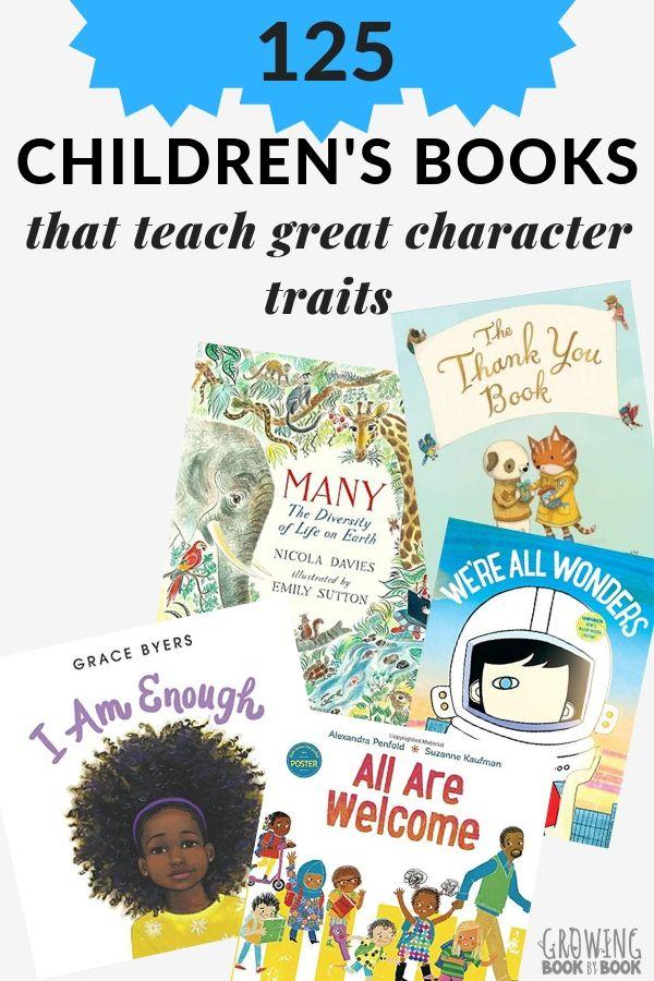 125 Books That Teach Kids Kindness Respect Gratitude More Teach Kids Kindness Childrens Books Kindergarten Books