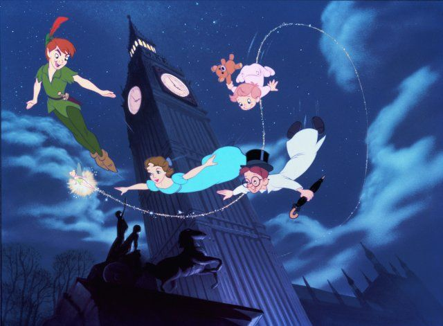 """""""the second star to the right and straight on till morning"""". . . to this day i still love peter pan!"""