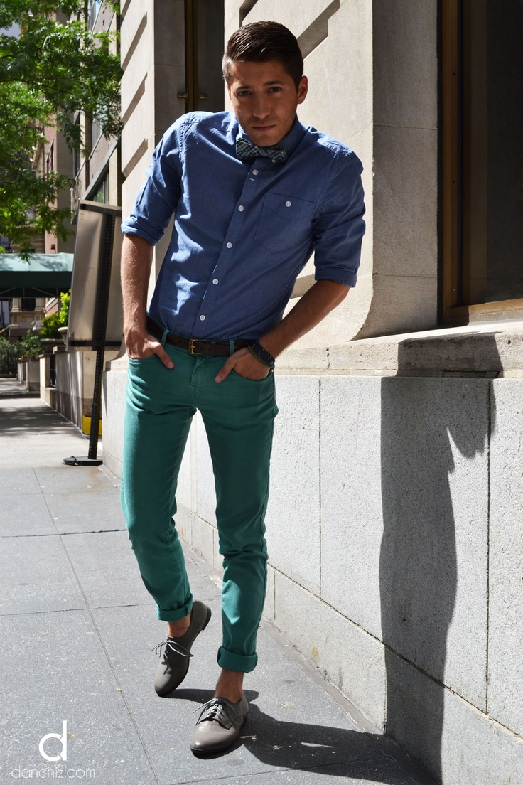 25 best images about Green pants outfit men on Pinterest