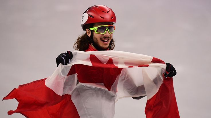 Samuel Girard becomes Canada's 1st Olympic champion in 1,000m short track