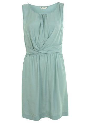 Great dress idea for bridesmaids-- saavy Spring Dresses, Mint Green, Bridesmaid Dresses, Wraps Waist, Mint Wraps, Miss Selfridge, Mint Dresses, Waist Pintuck, Pintuck Dresses