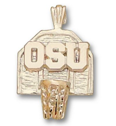 Image detail for -Ohio State Buckeyes OSU Basketball Backboard Pendant – 14KT Gold ...