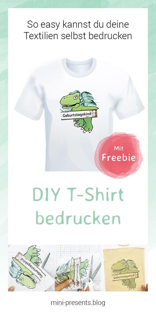 pretty nice d5dc4 90876 Selbst sein eigenes T-Shirt bedrucken | Deutsche DIY Blogger ...