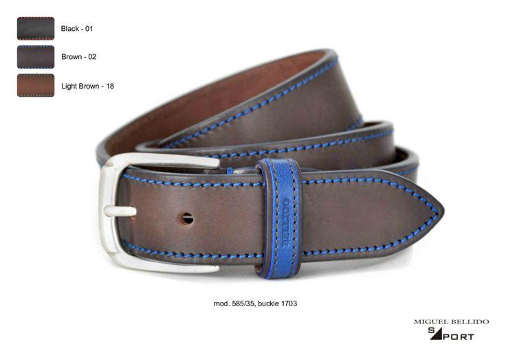 Collectie riemen 2014 van Miguel Bellido. www.e-belts.nl groothandel exclusief importeur voor de Nederlandse markt