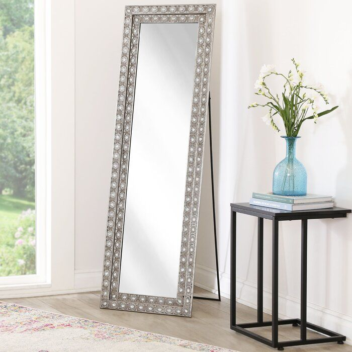 Sveta Traditional Rustic Full Length Mirror Floor Mirror Mirror Wall Mantel Decorations