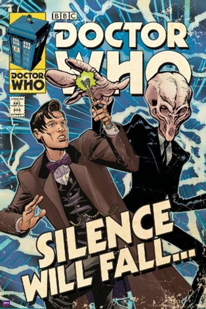 Doctor Who Silence Will Fall Comic Poster Order TODAY - SPECIAL EDITION Limited Print! Ships securely today in a crush proof poster shipping tube: Click here for more Posters!