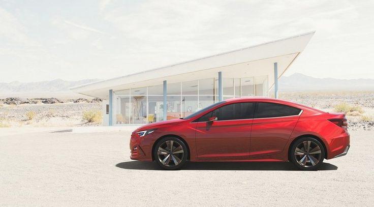 Subaru Impreza Sedán concept, sin sorpresas pero atractivo - http://www.actualidadmotor.com/subaru-impreza-sedan-concept/
