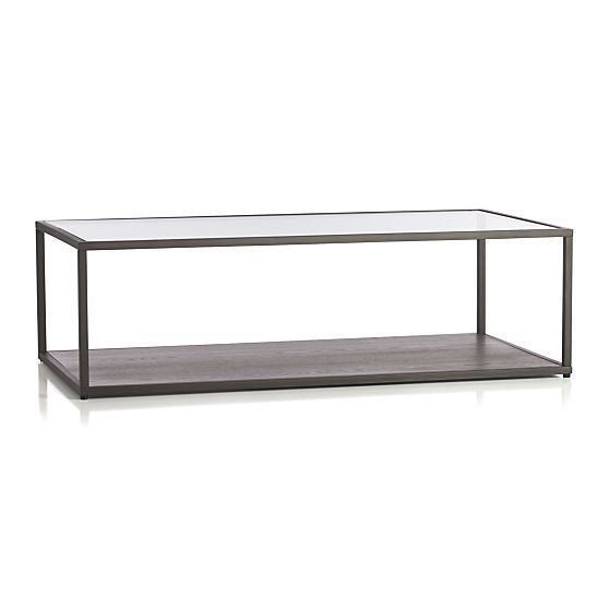 Switch Coffee Table Crate And Barrel Shelves Grey And Crate And Barrel