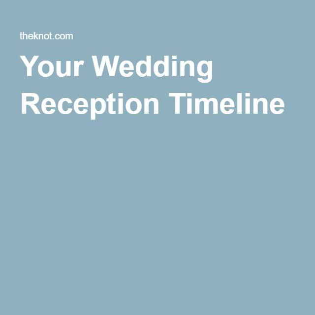 Más de 17 ideas fantásticas sobre Reception Timeline en Pinterest - event timeline sample