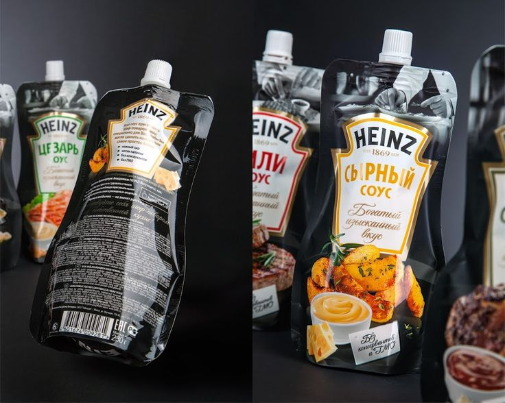 Heinz – The Chef Of Sauces on Packaging of the World - Creative Package Design Gallery