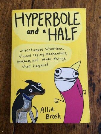 Hyperbole and a half #bookreview #graphicnovel #library #oamarulibrary #waitaki