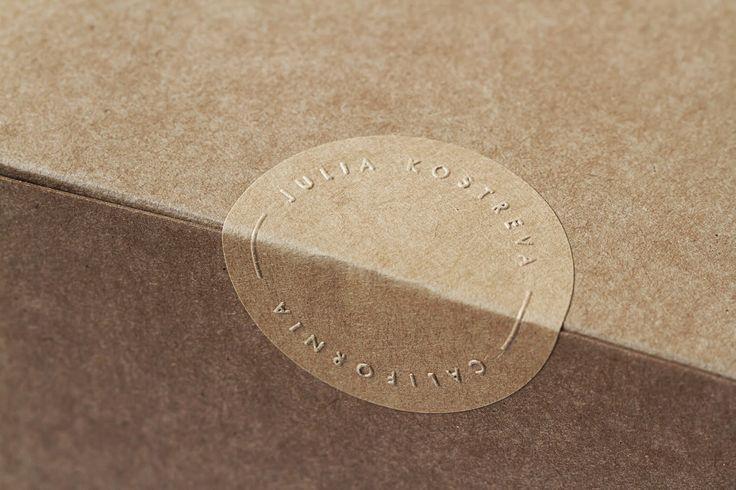 Good design makes me happy: Project Love: Julia Kostreva Studio Stationery