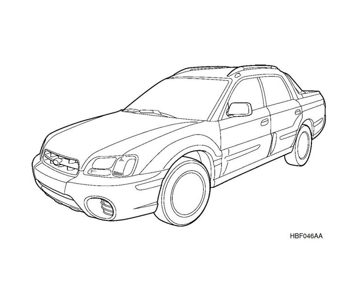 Subaru Baja 2003 Owner's Manual has been published on