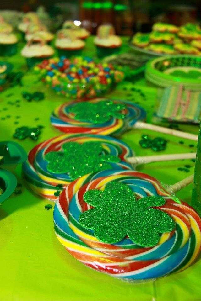 St Patrick's Day Party Deco