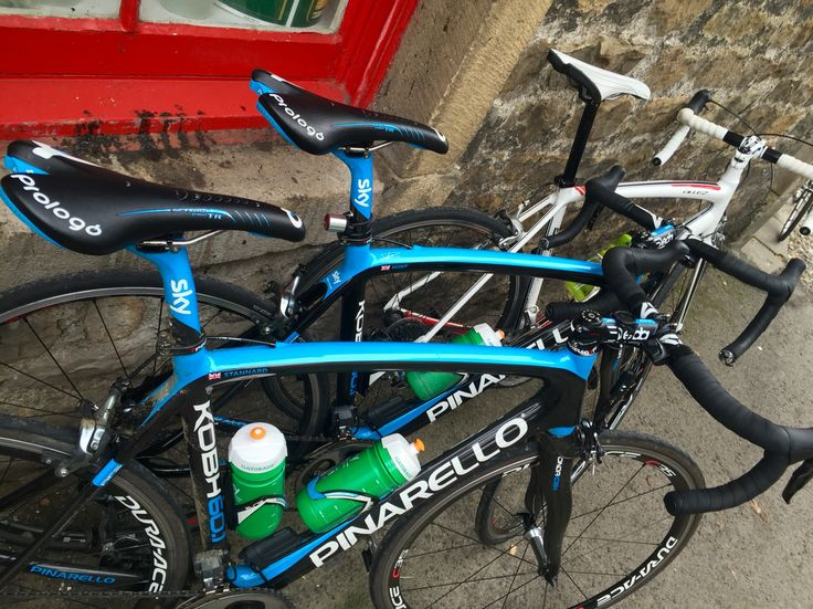 Saw Ian Stannard and his Pinarello out in Waddington yesterday for a coffee stop. The highlight of the ride.