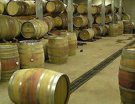 Wine Barrels, Distilling Barrels, Oak Barrels, Wine Barrels | England | Gumtree if you cut these in half and put a glass top on them perfect for side tables for lounge and mezzanine