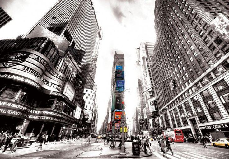 Fototapeta / Wallpaper - Times Square Vintage (New York) http://decoart24.pl/fototapeta-na-sciane-times-square-vintage-new-york-366x254-cm  #DecoArt24 #dekoracje #decorations #inspiracje #fototapeta #wallpaper #murals #interior #decor