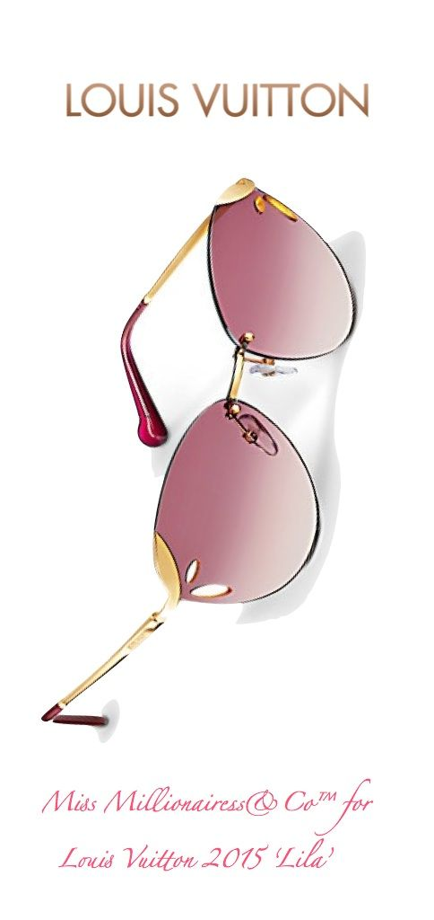 Louis Vuitton 2015 'Lila' Sunglasses...