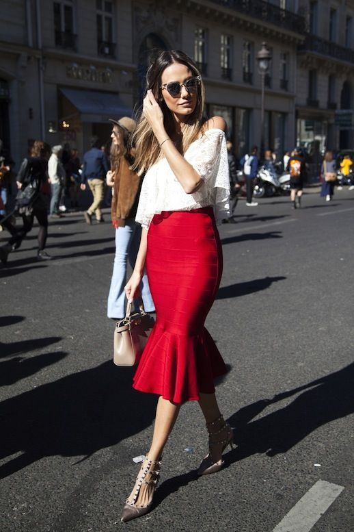 Street Style: How To Create The Perfect Romantic Look | Le Fashion | Bloglovin'