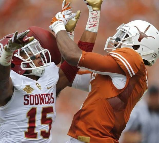 Welcome to the Cotton Bowl! OU and Texas are back at it again in the Red River Showdown. How will the Sooners and Longhorns respond after losses in the Big 12? Follow our live coverage with Ryan Aber, Jason Kersey and The Oklahoman sports team.