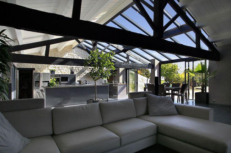 #veranda #conceptalu gamme #ARMONIA - #cuisine #salon #salleamanger