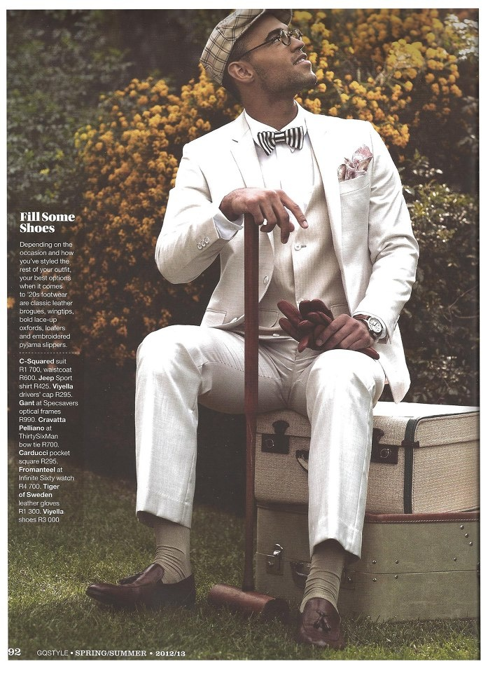 One of Fromanteel's watches is featured in the South-African GQ magazine!!