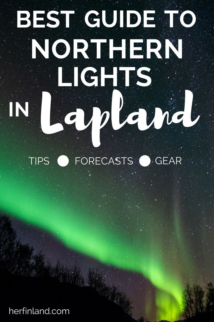 Northern Lights in Lapland are majestic. Find the best Northern Lights tips for Finland in this article!