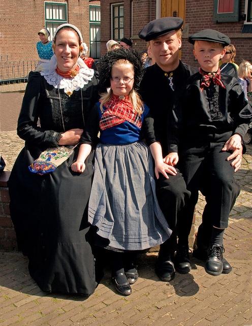 Traditional Nijkerk/Veluwe costume. Although I live in Nijkerk, I've never seen anyone wear it.