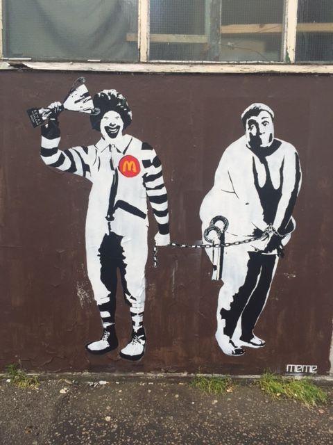 Tabernacle Street EC2 - #Macdonalds #obesity #statement #fastfood #fyfemcdade