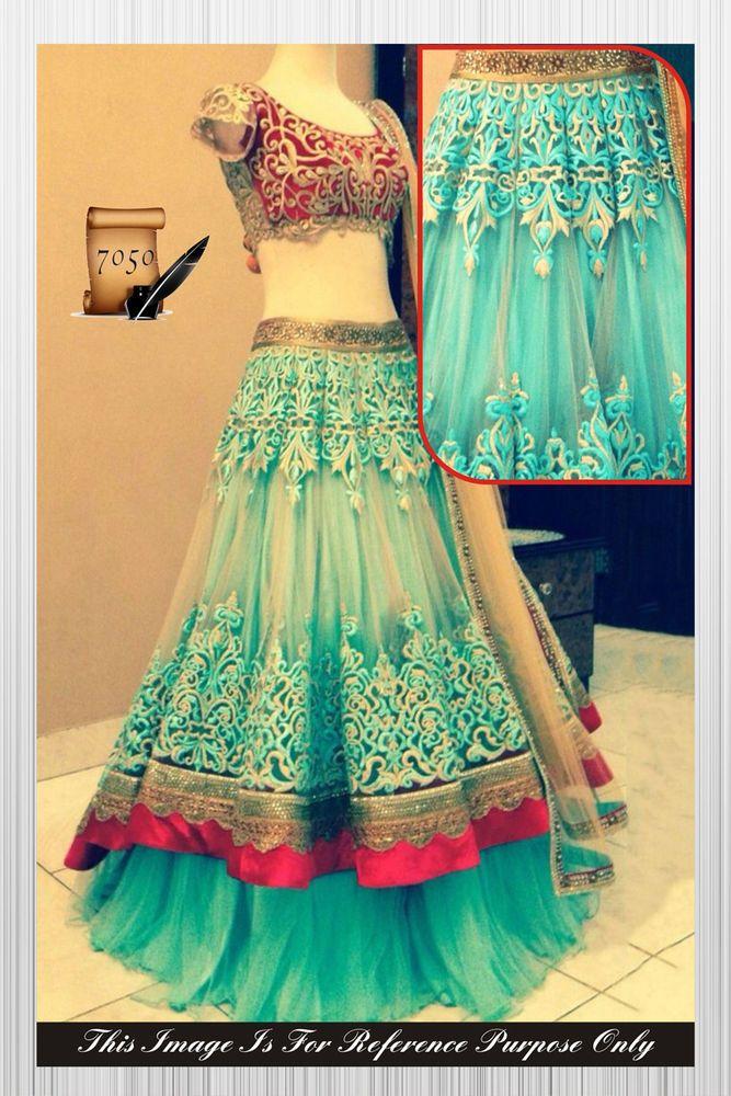 Traditional Indian party wear designer blue lehenga chunni wedding Ethinic #bollywoodhollywoodtollywood #fishcutstylelehnega