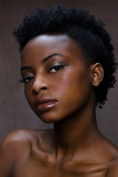 african american short quick weave hairstyles : shaved mohawk hairstyle for African American women: African American ...