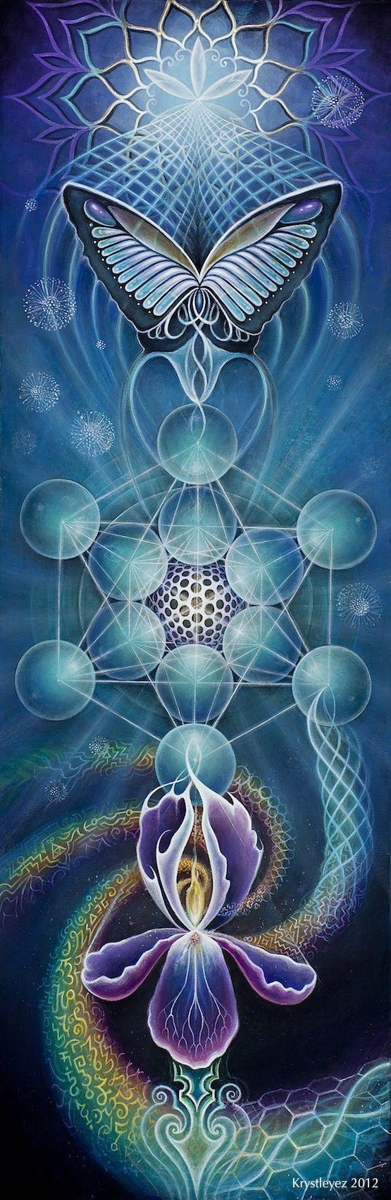 Chrysalis, de la colección Sacred Geometry.