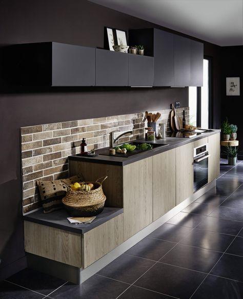 les 25 meilleures id es de la cat gorie cuisine lin aire sur pinterest cuisine en longueur. Black Bedroom Furniture Sets. Home Design Ideas