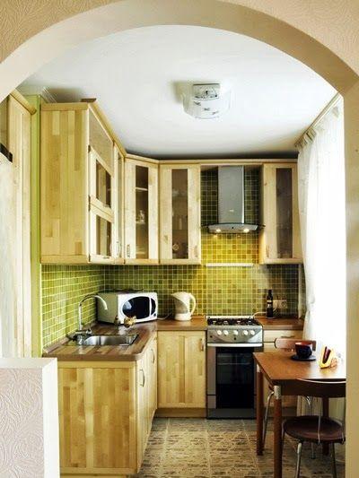 Kis konyha – ügyes kivitelezés | Életszépítők