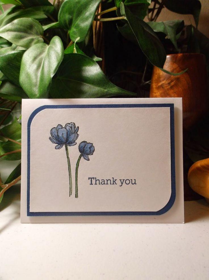 Rachel's Card Corner: Thank You Set Paper & Ink: Crisp Cantaloupe, Tangelo Twist, Wisteria Wonder, Blackberry Bliss, Night of Navy, Cherry Cobbler, Rich Razzleberry, So Saffron, Blushing Bride, Pool Party