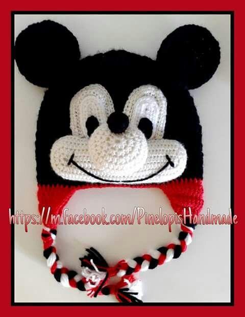 Crochet mickey mouse!  https://m.facebook.com/PinelopisHandmade/