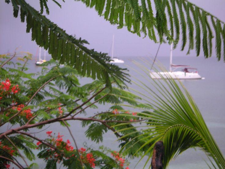 Saint Louis de Marie Galante, la baie ... et merci à Karine pour la photo :-)