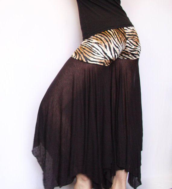 Tiger Princess Belly Dancer Bliss Pants por HipstarrDesigns