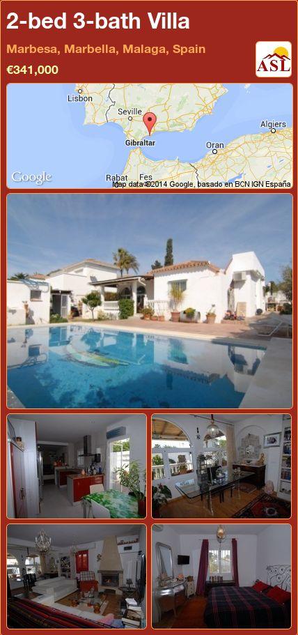 2-bed 3-bath Villa in Marbesa, Marbella, Malaga, Spain ►€341,000 #PropertyForSaleInSpain
