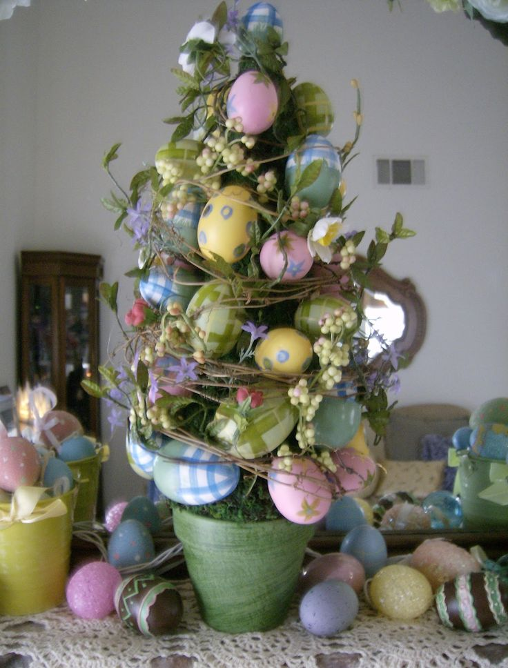 Images of Easter Egg Topiary - Get Your Fashion Style