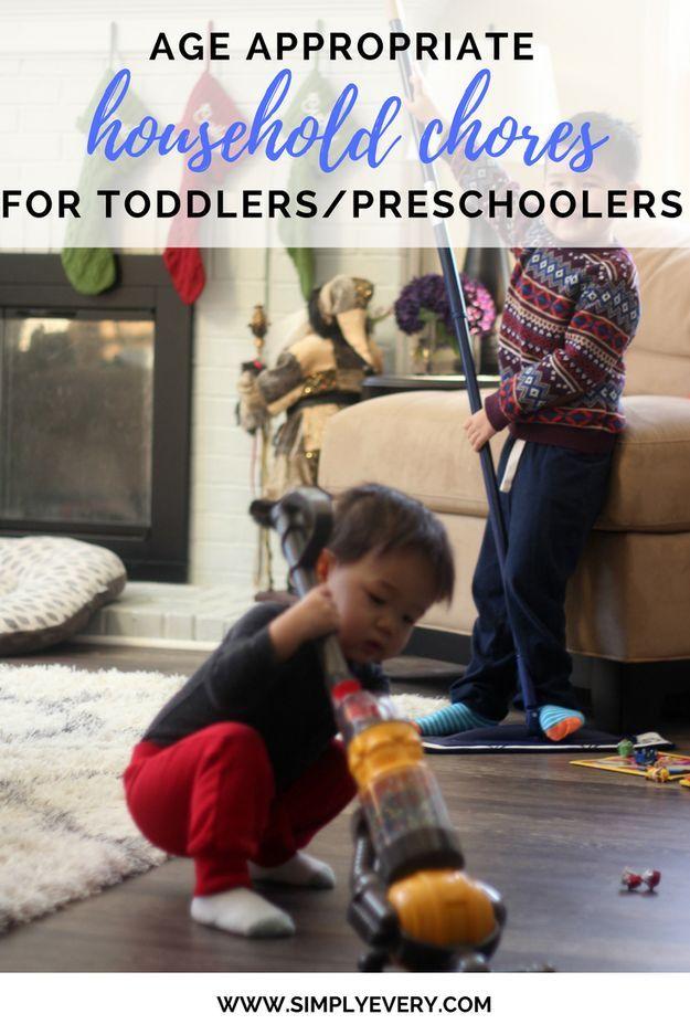 age appropriate chores for toddlers, preschooler chores, kids activities @bonaUS #bonasimplemoments #sponsored