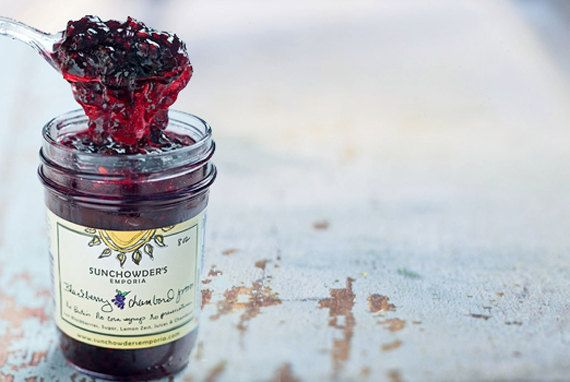 Blackberry Chambord Jam as seen in Southern by SunchowdersEmporia, $8.95