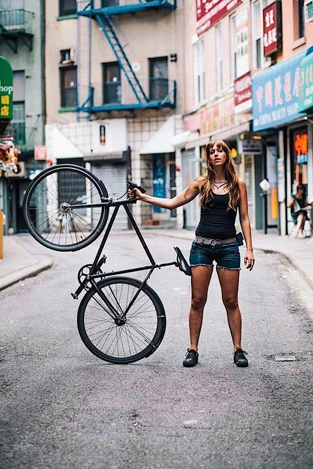 """Wie New Yorker Fahrrad fahren: Der Bildband """"New York Bike Style"""" von Sam Polcer"""