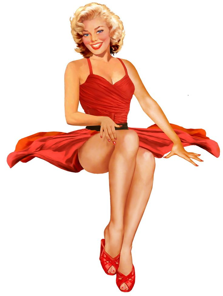 17 Best images about RETRO PINUPS on Pinterest  Pin up Gil ...