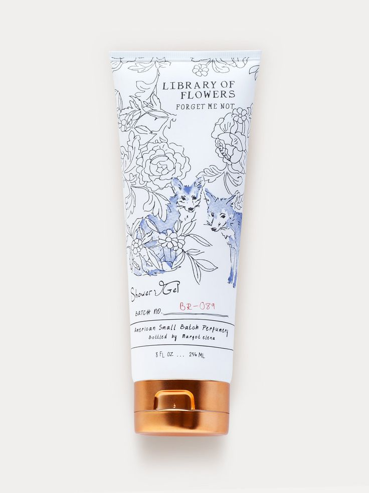 Shower Gel - Forget Me Not | Library of Flowers