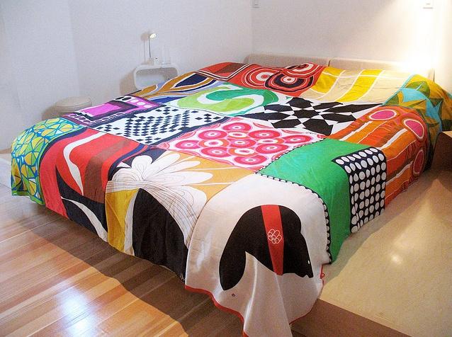 scarf bedspread